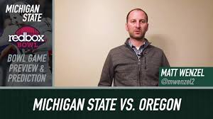 Michigan State Spartans Redbox Bowl Game Preview and Predictions