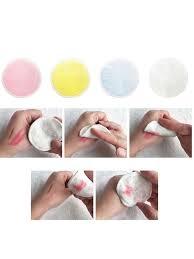 Buy Makeup Remover <b>Pads Reusable</b> Make up Facial Cleansing ...