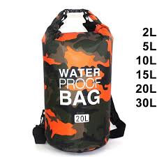 <b>Waterproof Swimming Bag</b> Dry Sack Camouflage Colors Fishing ...