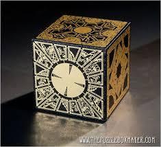 <b>Hellraiser Puzzle Box</b> - Solid Wood, Foil Face - Lament Configuration