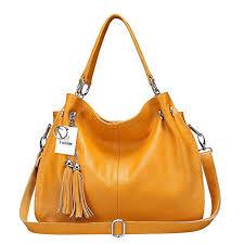 Yoome Fashion <b>Leather Bag</b> Cowhide <b>Womens</b> Tassel <b>Bag</b> ...