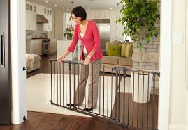 the  best baby gates for wide openings to keep babies safe and