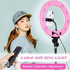 """Studio <b>Ring Light</b> 14""""Inch For Videography Remote Control With ..."""
