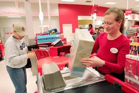 lowes career and employment information chicago 30 a clerk rings up s for a customer at a target