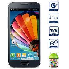 JIAKE I9500W 5.0 inch 3G Phablet Unlocked Phone Android 4.2 ...