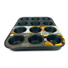 Muffin Pan 12 Cup <b>10013</b> - Bel Air Store Limited