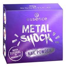 <b>Пудра</b>-<b>втирка для ногтей Metal</b> Shock Nail Powder 1г essence в ...