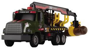 Грузовик <b>Dickie Toys</b> Лесовоз <b>Air</b> Pump (3806001) 32 см — купить ...