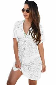 2018 summer <b>beach</b> swimwear <b>lace</b> cover up <b>pareo</b> bikini tunic ...