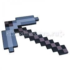 <b>Pixel Crew</b> Игрушечное оружие <b>Кирка</b> 8 Бит <b>пиксельная</b> 45 см ...