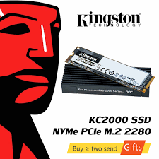Внутренний <b>твердотельный накопитель Kingston A2000</b> NVMe M ...