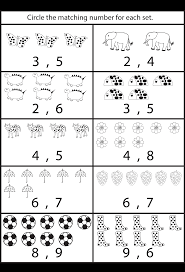 Counting 1 10 Worksheets Kindergarten Photo Album - Worksheet for ...1000+ images about 5-10 numbers on Pinterest | Worksheets, Number .