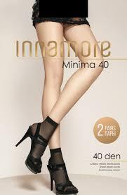 <b>Носки</b> женские <b>Innamore Minima 40</b>, цвет: Nero (черный), <b>2</b> пары ...