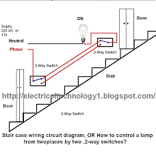 way switch wiring diagram  stair case wiring circuit diagram  or     way switch wiring diagram