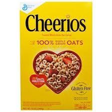 General Mills, <b>Cheerios</b>, <b>12</b> oz (<b>340</b> g) | <b>Cheerios cereal</b>, Gluten free ...
