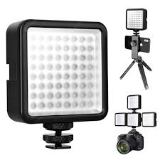 <b>WY</b>-<b>64 Super Bright Mini</b> LED Video Light Black Flash Diffuser Sale ...