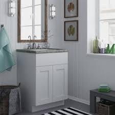altra white 24 inch shaker style bath vanity cabinet photos bathroom vanity
