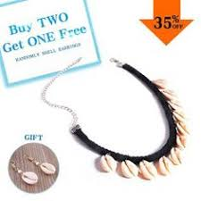 Bohemian Sea <b>Shells</b> Choker Necklace For Women Charm <b>Natural</b> ...