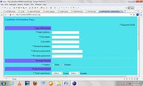 online job portal java project projectsgeek online job portal java project