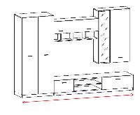 <b>Гостиные прованс</b>, купить стенку в гостиную в стиле прованс в ...
