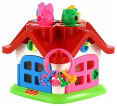 Купить развивающая игрушка <b>Полесье Логический</b> теремок ...