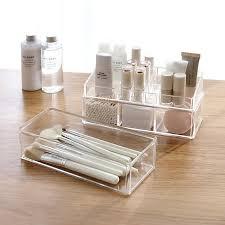 <b>Storage</b> box Separate Design <b>Plastic</b> Cosmetic Organizer <b>Creative</b> ...