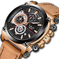 LIGE Mens Watches Chronograph Waterproof Sports ... - Amazon.com