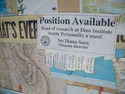 work at the dino institute is as difficult as any other profession in the world and like many break room bulletin boards the staff occasionally need to break room bulletin board