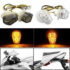 <b>Motorcycle LED Flush Mount</b> Turn Signal Light Indicator Blinker ...