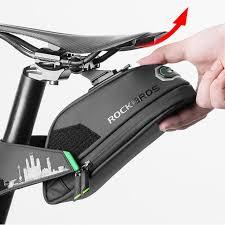 <b>ROCKBROS Rainproof Bicycle</b> Bag Shockproof <b>Bike</b> Saddle Bag ...