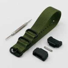 <b>16mm Black</b> Replacement Resin <b>PVC</b> 25mm <b>Watch</b> Band Strap Fits ...