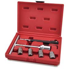 Toptul JGAI0704 <b>Diesel Injector</b> Seat <b>Cutter</b> Set <b>7pcs</b>
