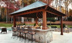 Countertop For Outdoor Kitchen Outdoor Kitchen With Bar Design Tool Pool Pergola Plans Deck