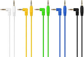 Cable Matters 5-Color Combo 3.5mm Right Angled ... - Amazon.com