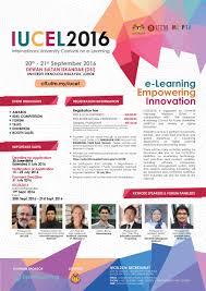 international university carnival on e learning iucel international university carnival on elearning iucel 2016 poster jpg