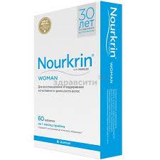 <b>Nourkrin</b> (<b>Нуркрин</b>) Woman для <b>женщин</b> таблетки 60 шт. купить ...