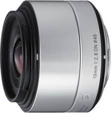 <b>Sigma AF 19mm f/2.8</b> DN Silver Art Series Wide Angle Lens for ...