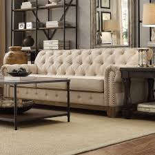 Button Couch Townsend Button Tufted Sofa
