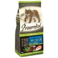 «<b>Корм</b> для кошек <b>Primordial Grain</b> Free Cat Adult Salmon Tuna (2 кг ...