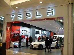 Tesla Store Front UTC Mall