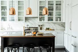 lights place kitchen pendant breathtaking gold colored copper pendant light placed above black dining table and breathtaking modern kitchen lighting options