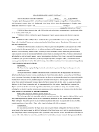 sport contract template 2 templates in pdf word excel standard player agent contract