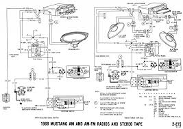 1968 mustang wiring diagrams and vacuum schematics average joe 1968 mustang wiring diagram radio audio