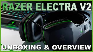 <b>Razer Electra V2</b> Unboxing and Overview | Budget Gaming Headset ...