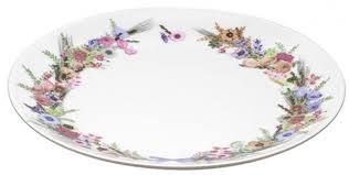 """<b>Тарелка</b> десертная <b>Domenik</b> """"<b>Crown</b> Of Flowers"""", 19 см — купить в ..."""