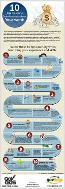 best images about employment student centered 10 tips for letting federal employers know your worth infographic govloop knowledge