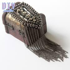 2019 Alloy Handmade Fashion Tassel Chain <b>Shoulder Board</b> ...