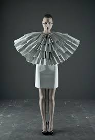 17 best ideas about paper fashion paper dresses paper fashion by unknown the use of paper here is fantastic the starkness