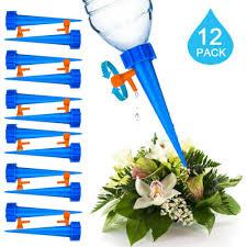 12Pcs <b>Plant Waterer Automatic Watering Adjustable</b> Drip Irrigation ...