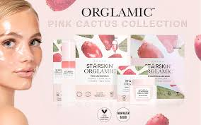 <b>Starskin</b> debuts its <b>Orglamic Pink Cactus</b> series